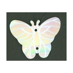 Flitry - bílý motýlek 10387-508 bílý motýlek 5 g