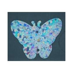 Flitry - modrý laser motýlek 10387-204  motýlek 5 g