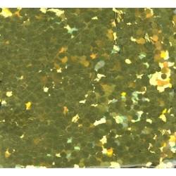 Glitr jasně žluto-zlatý 2 mm A0203
