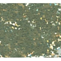 Glitr studený odstín zlata 2 mm A0215