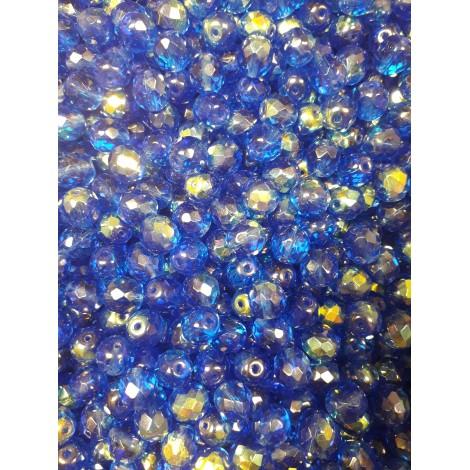 Korálky skleněné broušené 151-19-001 10mm 40010