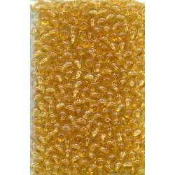 mačkané korálky spirál. stočené 15/13mm alabastr  bal. 12 ks