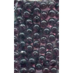 mačkané skleněné kuličky pr. 8mm, barva 83539 bal. 50 ks