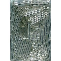 Rokail (rokajl) Bugles (čípky) červená (6-7 mm) 165S balení 50g 50 g