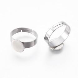Prsten z nerezavějící oceli L3194