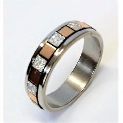 Prsten z nerezavějící oceli L2656 17 mm průměr