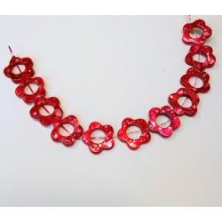 korálek z perleťoviny L2461 červená