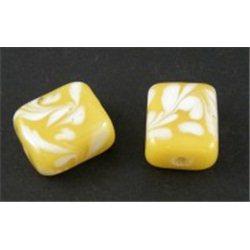 Skleněný korálek 2ks L0079 vinutá perle