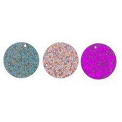 Flitry mix barev 20 mm bal. 15g (3x5g) - třpytivý flitr