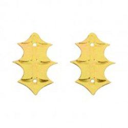 SLEVA 15% Flitry - zlatý lístek cesmíny 11x25mm 328-196