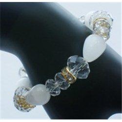 Náramek ze skleněných perlí L0007