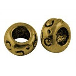 kovový korálek L0403