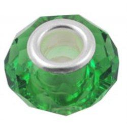 Zelený korálek L0407