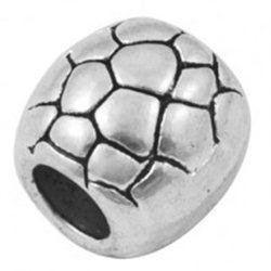 kovový korálek  L0538 - OVÁL