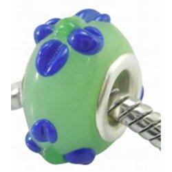 Světle zelený korálek L0564