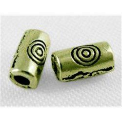 VÁLEČEK  - kovový korálek L0595