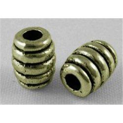 VÁLEČEK - kovový korálek L0601