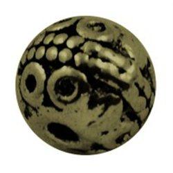 KULIČKA - kovový korálek L0609