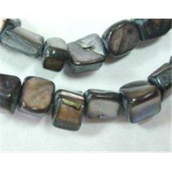 Korálky z perleťoviny L0657 balení 1 šňůra  (cca 50 ks)