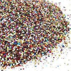 Glitr vícebarevný - hrubší posyp 4342-099/1