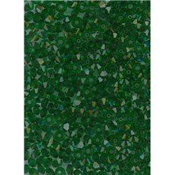 M.C. rondelky 3x5 mm, barva 50140 - zelená,  bal. 1 grs (144 ks)