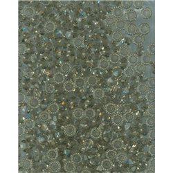 M.C. rondelky 3x5 mm, 144ks 451-49-301 40010 black diamond (šedá)