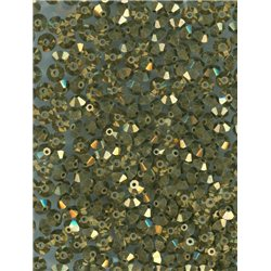 M.C. rondelky 3x5 mm, 144ks 451-49-301 23980/90215 starozlato