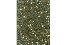 M.C. rondelky 3x5 mm, 23980/90215 starozlato, bal. 1 grs (144 ks)