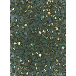 M.C. rondelky 3x5 mm, barva 23980/ iris 21415,  bal. 1 grs (144 ks)