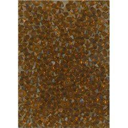 M.C. rondelky 3x5 mm, barva 10110 - tmavý topaz,  bal. 1 grs (144 ks)
