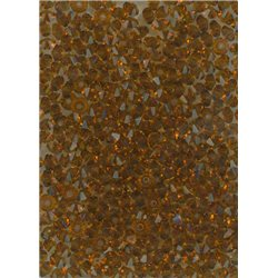 M.C. rondelky 3x5 mm, 144ks 451-49-301 10110 tmavý topaz