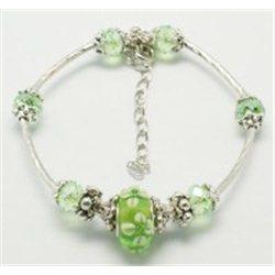Náramek zelený L0858
