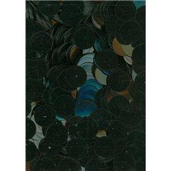 černé flitry 10 mm (1 cm) rovné 6753-041 bal. 3 g (cca160ks)