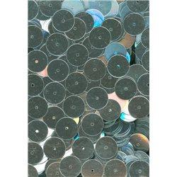 stříbrné flitry 10 mm rovné 38759-124 bal. 3 g (cca160ks)
