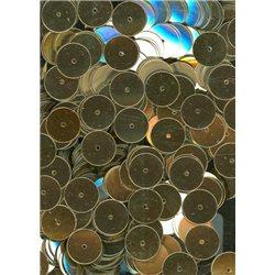 zlaté flitry 10 mm (1 cm) rovné 6753-196 bal. 3 g (cca160ks)