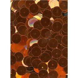 oranžové flitry 10 mm (1 cm) rovné 6743-634 bal. 3 g (cca160ks)