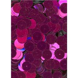 tm. růžové flitry 10 mm rovné 6753-144 bal. 3 g (cca160ks)