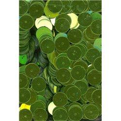 zelené flitry 10 mm (1 cm) rovné 6753-326 bal. 3 g (cca160ks)