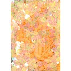 oranžové flitry 5 mm rovné (tmavší) 6681-290T bal. 5 g
