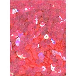 růžové flitry 5 mm (0,5 cm) rovné 6681-287 bal. 1.000 ks (5g)