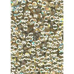 zlaté flitry 5 mm (0,5 cm) miska 6674-196 bal. 1.000 ks (5g)