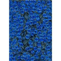 modré flitry 5 mm (0,5 cm) miska 6677-184 bal. 1.000 ks (5g)