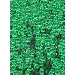 zelené flitry 5 mm (0,5 cm) miska 6687-164 bal. 1.000 ks (5g)