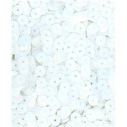 Flitry bílé, rovné 6 mm 6709-019