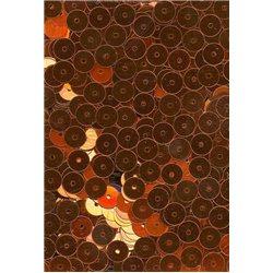 oranžové flitry 6 mm rovné 6709-634 bal. 3 g (cca375ks)
