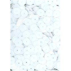 bílé flitry 8 mm rovné 6733-019 bal. 3 g (cca200ks)