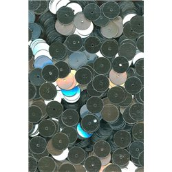 stříbrné flitry 8 mm rovné 6733-124 bal. 3 g (cca200ks)