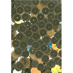 zlaté flitry 8 mm rovné 6733-196 bal. 3 g (cca200ks)