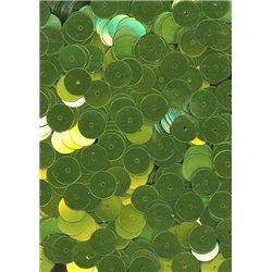 zelené flitry 8 mm rovné 6733-326 bal. 3 g (cca200ks)