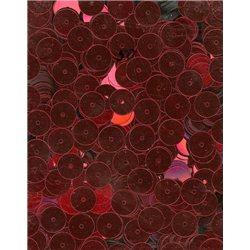 červené flitry 8 mm rovné 6733-020 bal. 3 g (cca200ks)